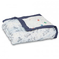 Aden + Anais Silky Soft Dream Blanket Stargaze