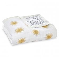 Aden + Anais Silky Soft Dream Blanket Golden Sun