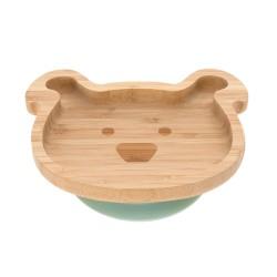 Lässig bambusová miska s přísavkou Dog