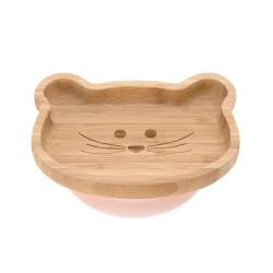 Lässig bambusová miska s přísavkou