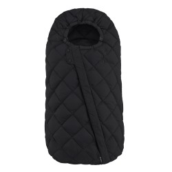 Cybex Snøgga footmuff Deep Black