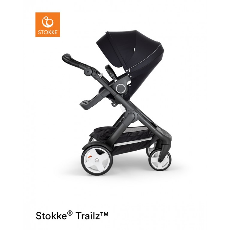 Stokke Trailz chassis with Classic Wheels Black