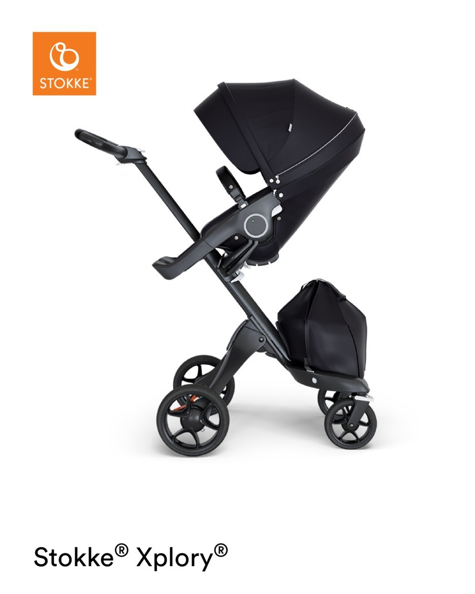 Spacious Stroller Attachment for Newborns and Babies up to 9 kg Stokke Trailz Carry Cot Colour 20 lbs for The Stokke Trailz Chassis Brushed Grey