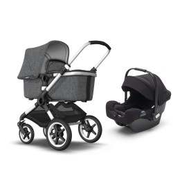 Bugaboo Fox set Grey Melange