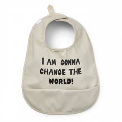 Elodie Deatils baby bibs Change the World