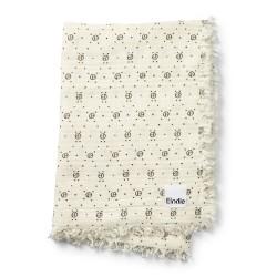 Elodie Details měkká bavlněná deka Monogram Print
