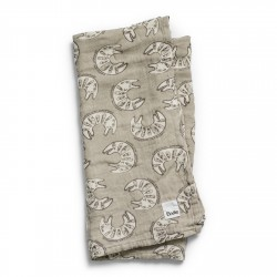 Elodie Details Bamboo Muslin Blanket Kindness Cat