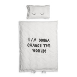 Elodie Details Crib Beding Set Change the World