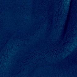 Aesthetic rychlozavinovačka s kapucí bez výplně mikroplyš 335 - modrá přímá