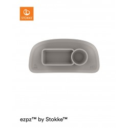ezpz™ by Stokke™ silicone mat for Stokke® Tray Soft Grey