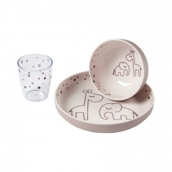 Done by Deer Yummy mini dinner set Dreamy dots