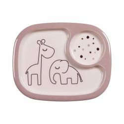 Done by Deer Yummy mini dělený talíř Dreamy Dots