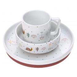 Lässig sada nádobí Porcelain