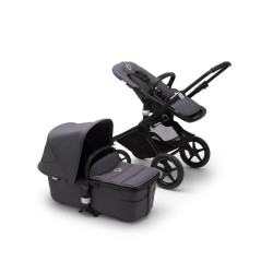 Bugaboo Fox² komplet Black/Steel Blue
