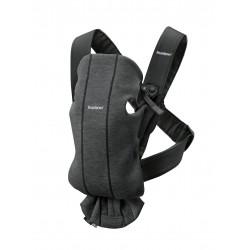 BabyBjörn nosítko Mini 3D jersey Charcoal Grey
