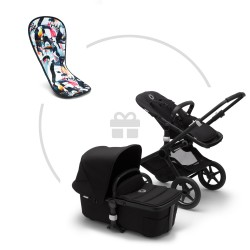 Bugaboo Fox² Black complete + free gift