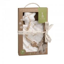Sophie la girafe® Comforter with pacifier holder