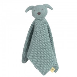 Lässig Knitted Baby Comforter Little Chums mouse