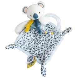 DouDou et Compagnie Koala muchláček s chrastítkem 22cm