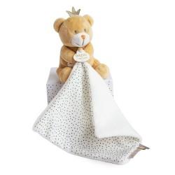DouDou et Compagnie Perlidoudou Bear with doudou 10cm