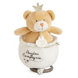 DouDou et Compagnie Perlidoudou Bear Musical box 14cm