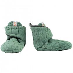 Lodger capáčky Slipper Empire Fleece 0-3m Green Bay