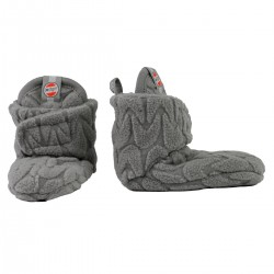Lodger capáčky Slipper Empire Fleece 3-6m Sharkskin