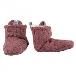 Lodger capáčky Slipper Empire Fleece 3-6m Rosewood