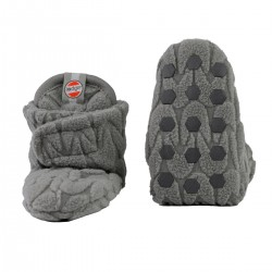 Lodger capáčky Slipper Empire Fleece 6-12m Sharkskin