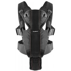 BabyBjörn carrier Miracle Black Mesh
