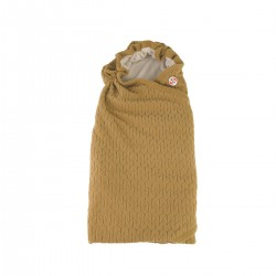Lodger Wrapper Empire Fleece Dark Honey