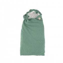 Lodger Wrapper Empire Fleece Green Bay