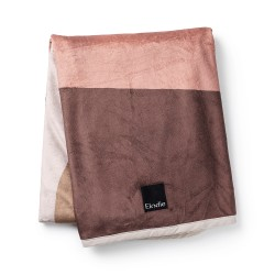Elodie Details Pearl velvet Blanket Winter Sunset