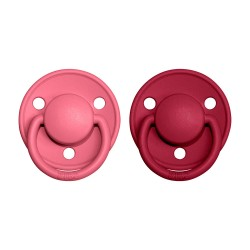 BIBS De Lux pacifier 100% natural rubber size 1