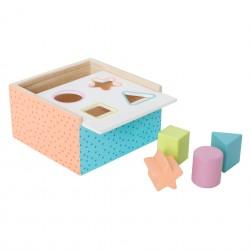Jabadabado třídící box barevný