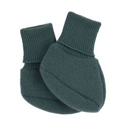 Voksi® Double Knit capáčky Sea Green 0-6m