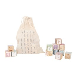 Jabadabado Wooden alphabet blocks