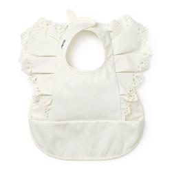 Elodie Deatils baby bibs Vanilla White