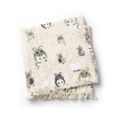 Elodie Details měkká bavlněná deka Forest Mouse