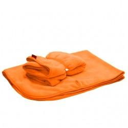 Aesthetic deka na kočárek s úchyty 310 - pomerančová