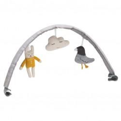 Nuna Leaf hrazdička s hračkami