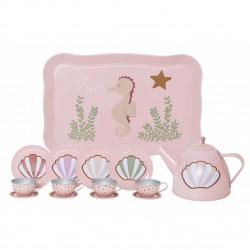 Jabadabado čajový set v kufříku Mořský koník