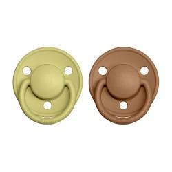 BIBS De Lux pacifier 100% natural rubber size 1