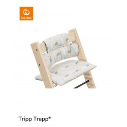 Stokke Tripp Trapp polštářek Birds Blue