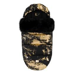 Bjällra of Sweden Footmuff Black Golden