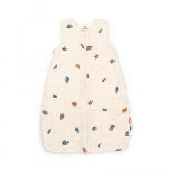 Done by Deer Sleepy bag, 70 cm/TOG 1.0, Sea friends beige