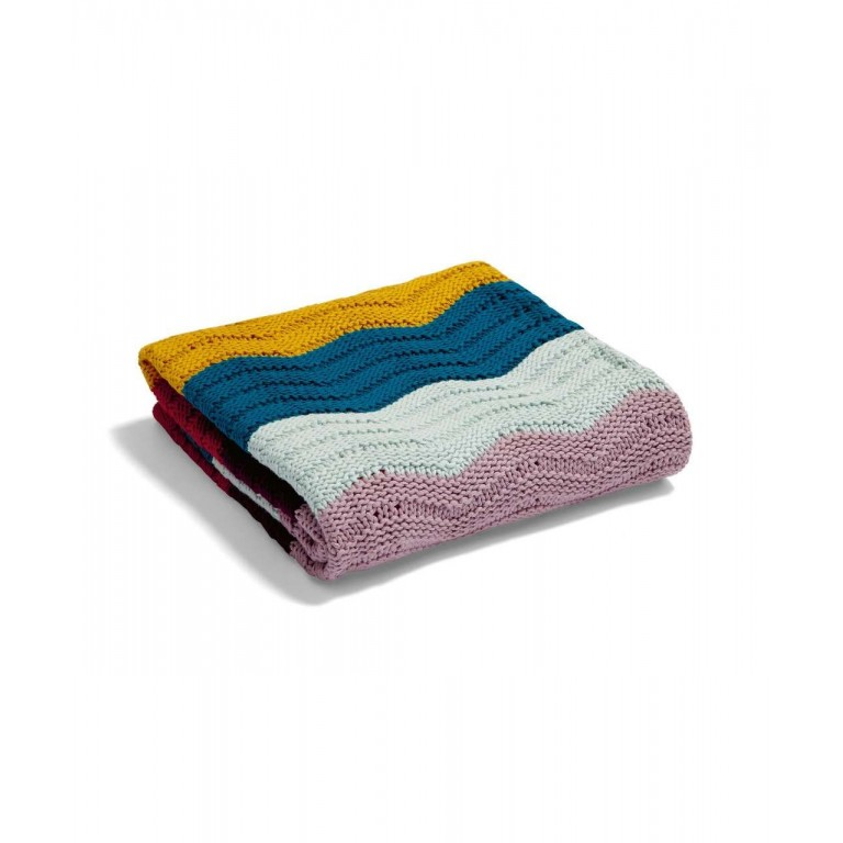 Mamas & Papas Knitted Blanket Parrentology Wave