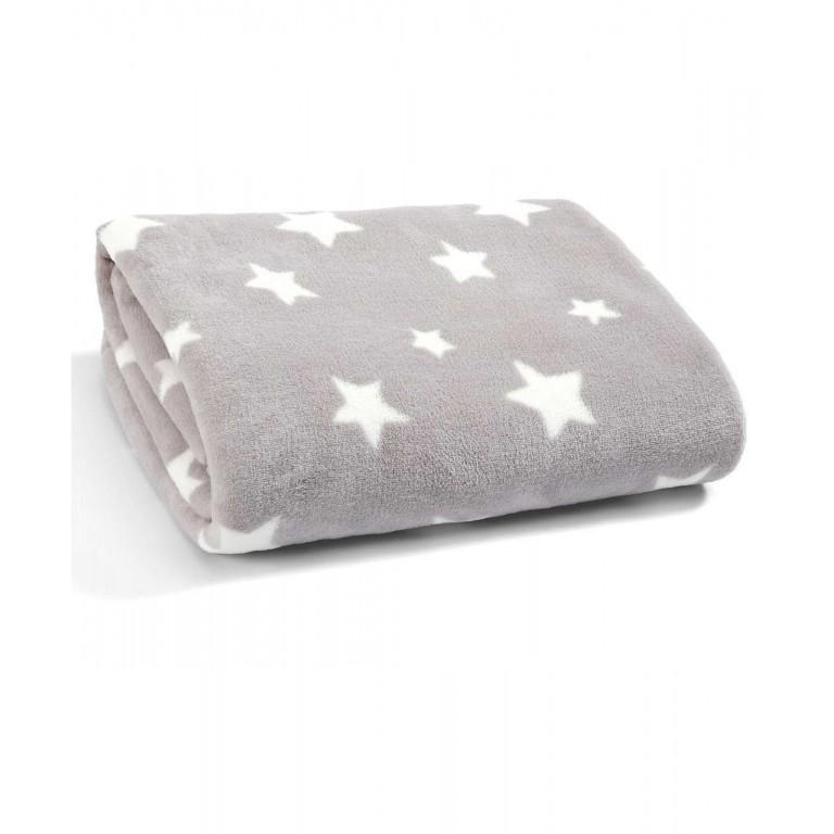 Flísová deka velká Millie & Boris hvězdičky