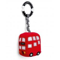 Mamas & Papas Mini červený autobus