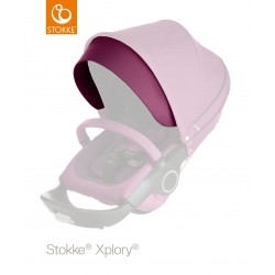 Stokke Stroller Visor for Hood Purple